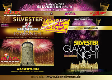 Silvester single party hannover 2014